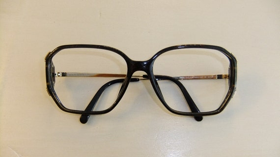 Old Eyeglass Frames New Lenses : Vintage Retro Christian Dior Big Lens Eyeglass Frames New