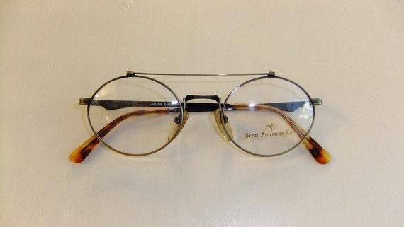 Vintage Eyeglass Frames Etsy : Vintage Round Eyeglass Frames