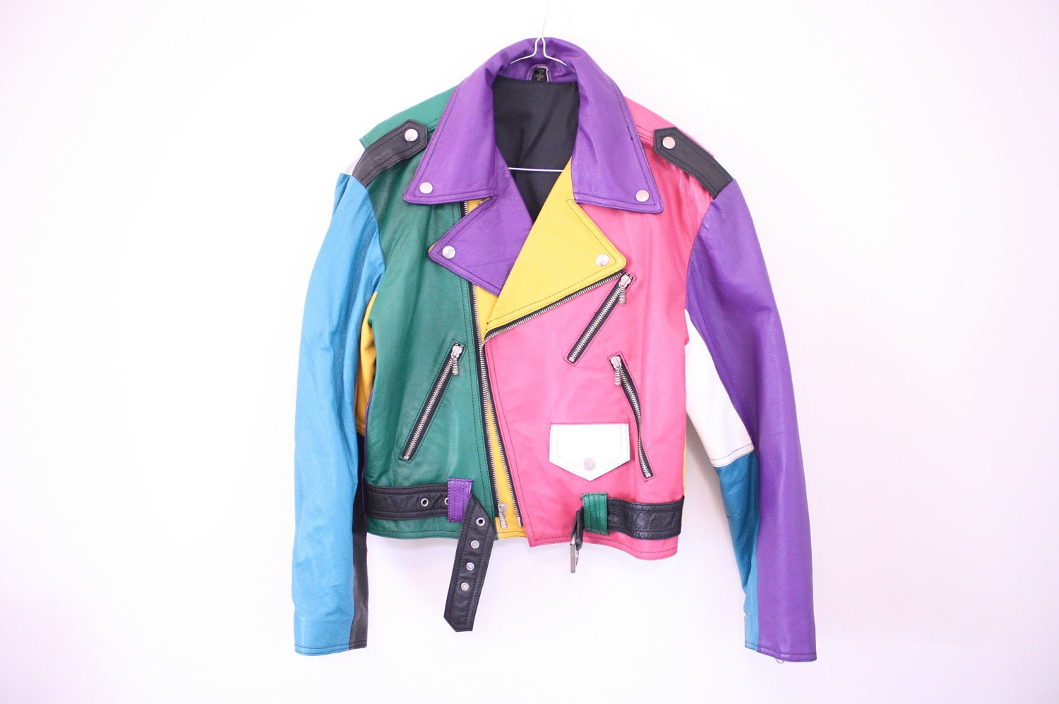 Suede Leather Jacket Womens