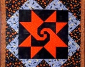 Halloween Lap Quilt/ Table Cover
