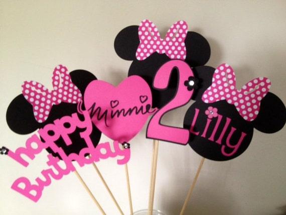 Preferenza 6 Piece Minnie Mouse Inspired Centerpiece Set Minnie QH27