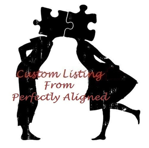 Custom Listing - Reserved for Beth