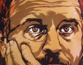 Louis C.K. Stencil Art Print