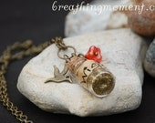 A Small Wishing Bird Necklace
