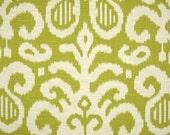 2 Ikat Lime 16x16 inch Pillow Covers, Throw pillows, Pillow Case, Home Decor, Designer Fabric