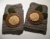 Buckeye Nut Fingerless Gloves