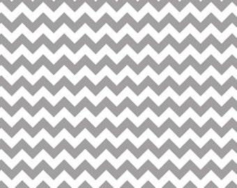 Small Chevron Grey by Riley Blake Designs-Last 16 inches