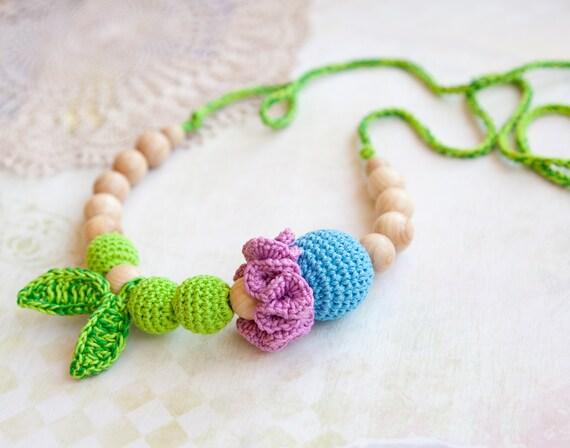 Mommy / Teething Necklace - Nursing Breastfeeding necklace