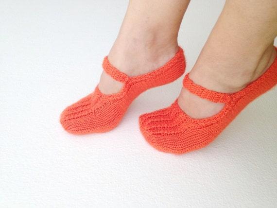Orange  Healthy Booties Home slippers Dance classic yoga sexy hygienic light Naturel yoga,socks,halloween,tangerine tango