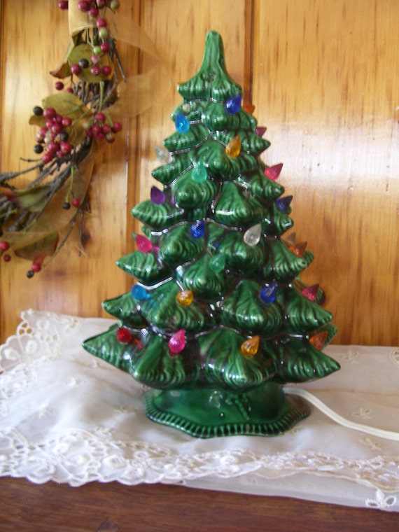 Antique Ceramic Christmas Tree