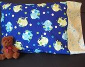 Children's Pillow Case- Elephants