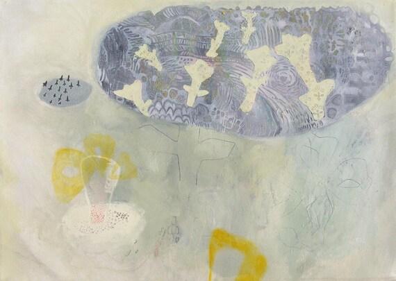 Cloud journey (original oil on canvas 80x60cm)