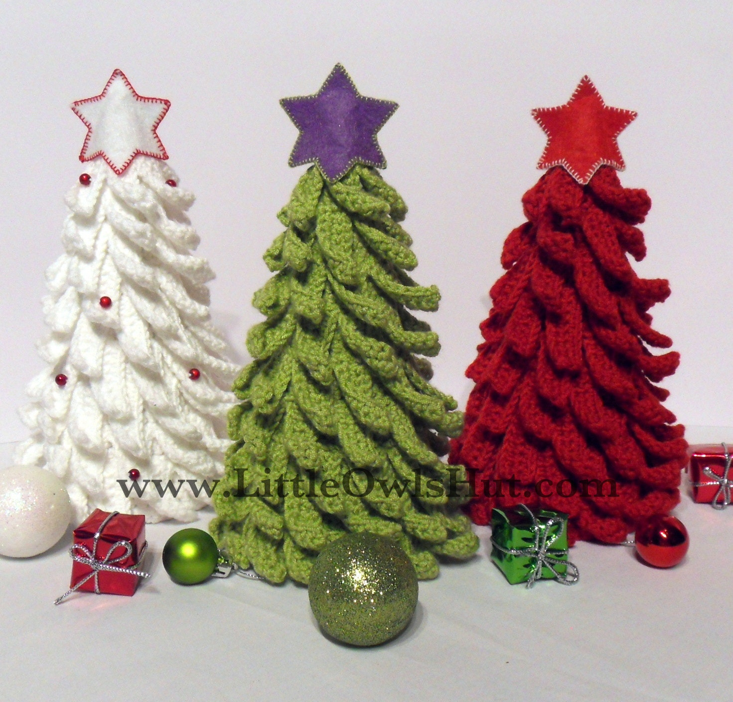 001 Christmas Tree. New Year pattern. Amigurumi by ...