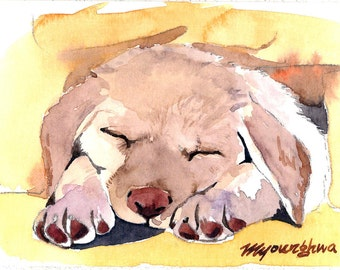 ACEO Limited Edition -My first puppy