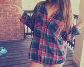 Oversized Boyfriend flannel