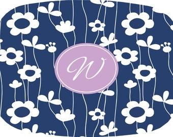 Personalized Platter - Spring Flowers, Customized Melamine Platter