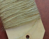 JUTE TWINE BURLAP String Natural Color Thin Strong Eco Friendly