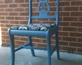vintage Harp Back Side Chair