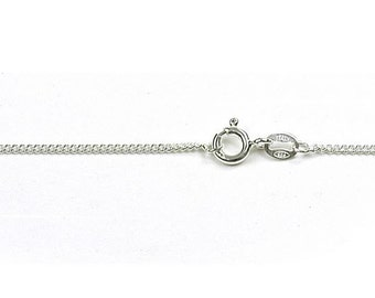 "18"" Curb Chain Sterling Silver"