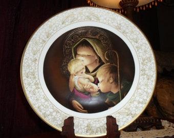 Boehm Studios Adoration Collector Plate