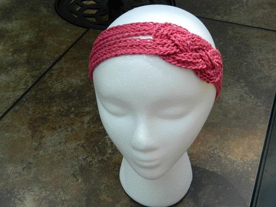 Women's Knotted Headband Crochet Sailor's Knot