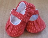 Sweet Heart - Baby Mary Janes - Baby Booties - Baby Shoes