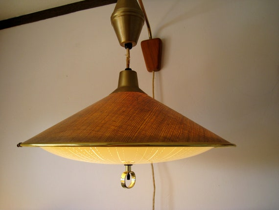 Mid Century Gerald Thurston pendant light for Lightolier
