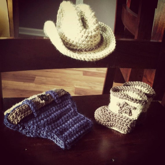 Crochet Pattern For Cowboy Hat And Boots : Unavailable Listing on Etsy