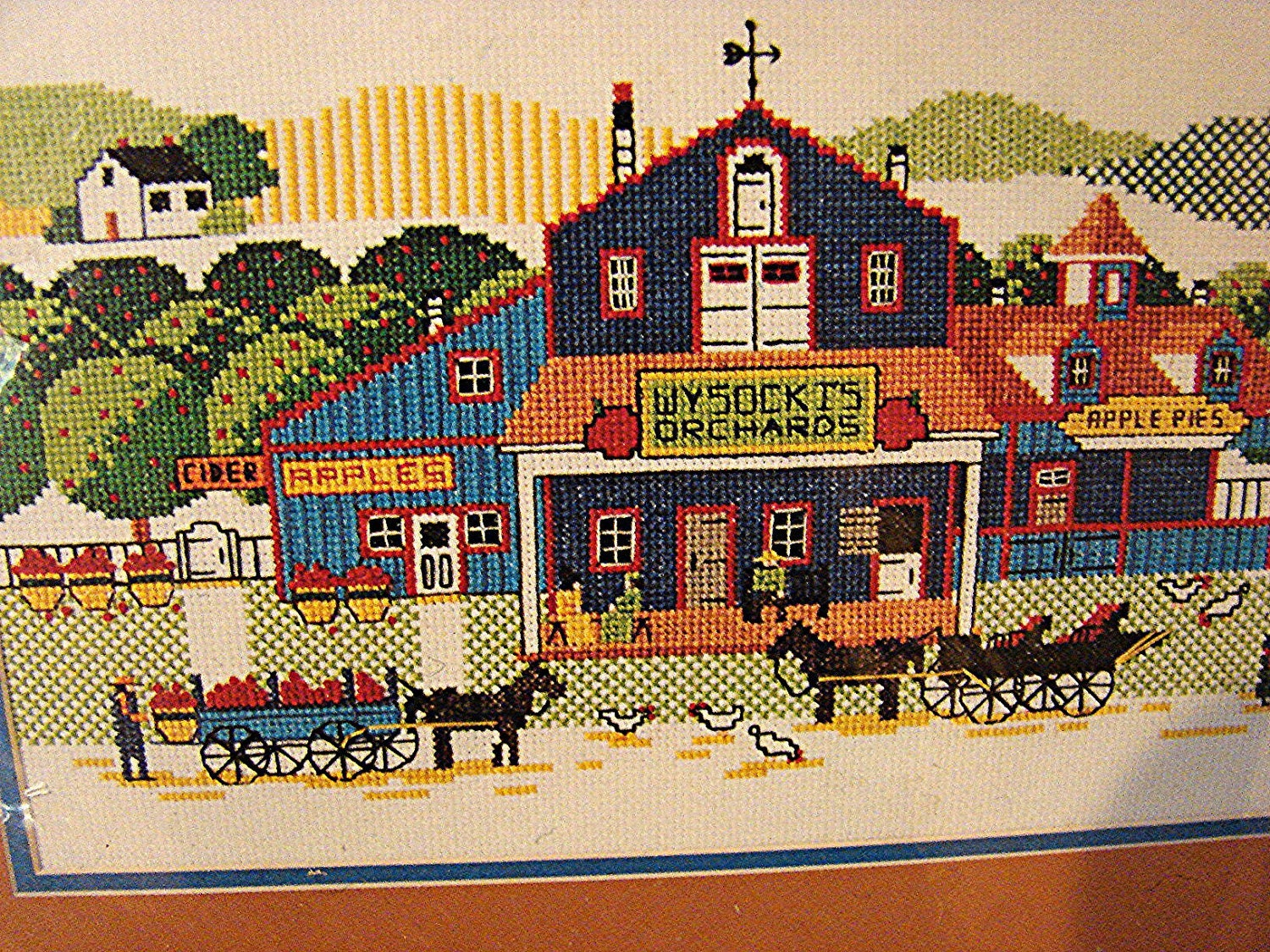 Vintage Dimensions Counted Cross Stitch Kit Charles Wysocki