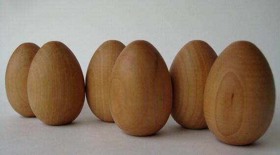 waldorf wooden eggs