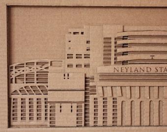 Cardboard Neyland Stadium
