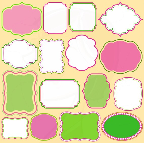 Free Clipart Text Frames