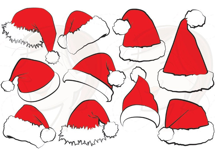 Request a custom order and have something made just for you Black Santa Claus Clipart