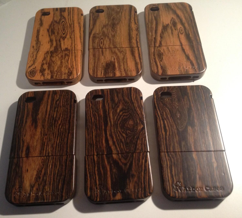 Vintage Wedding Dresses Omaha Ne: Wood IPhone Case Exotic Bacote Wood Limited Edition By