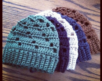 Newborn Boy Beanie - Specify Colors at Checkout