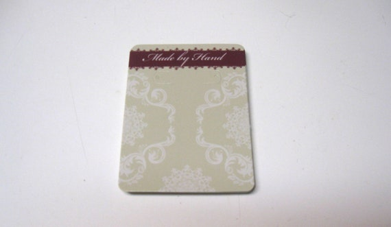 Earring cards set of 20