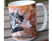 Best Friends Large Coffee Mug 15 Oz.