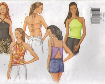 Butterick Sewing Pattern 3029 - Misses' Tops (6-10, 12-16, 18-22)