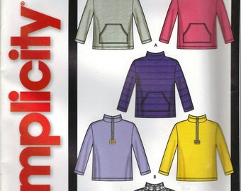 Simplicity Sewing Pattern 5768 - Sweatshirts (S-L)