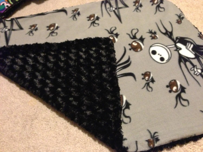 Handmade Baby Blanket Nightmare Before Christmas Jack