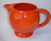 40s Red FIESTA Ice Lip Pitcher very good condition
