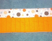 16 Count Crayon Roll, assorted prints