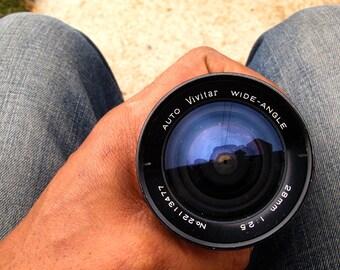 Vivitar 28mm f/2.5 Konica AR Mount Wide Angle Prime Lens
