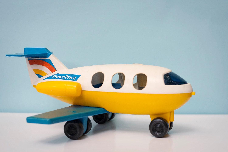 Vintage Toy Airplane 98