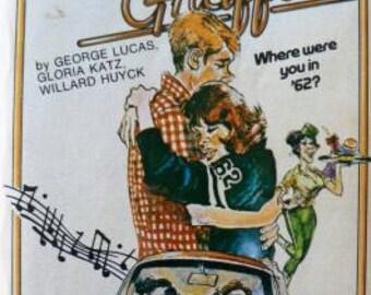 vintage paperback ... AMERICAN GRAFFITI by George LUCAS ...