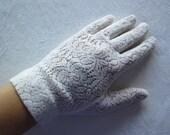 Vintage Lace Gloves - S/M