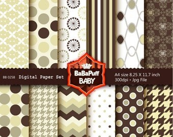 Buy 2 Get 2 Free ---- Digital Papers ---- Personal and Small Commercial Use ---- BB 0258