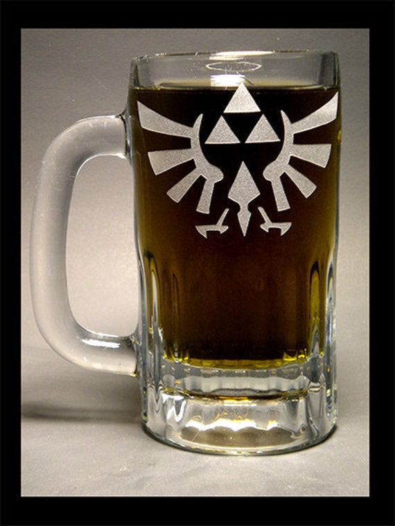 Royal Seal Of Hyrule Etched 15oz Mug