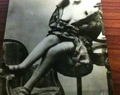 Risque French Postcards Circa 1910's - 1920's Reserved for Fred