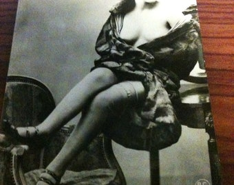 Risque French Postcards Circa 1910's - 1920's